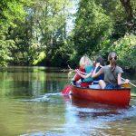 kayak descente de la lesse