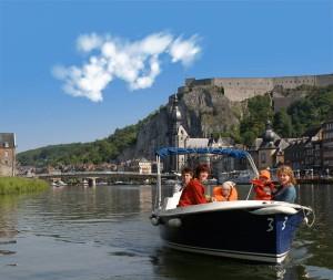 bateau électrique dinant