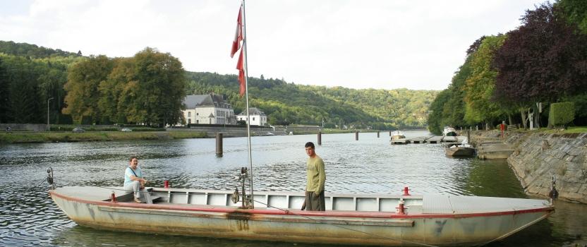 Le dernier passeur d'eau à Waulsort